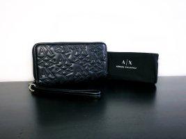 Armani Exchange Wallet black-silver-colored polyurethane