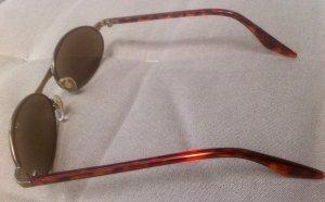 Owalne okulary przeciwsłoneczne Wielokolorowy Metal