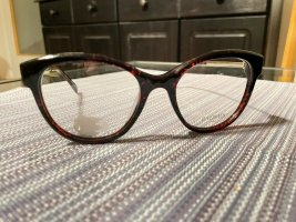 Balmain Glasses gold-colored-brown red