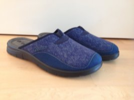 NEU | Bequeme blaue Pantoffel
