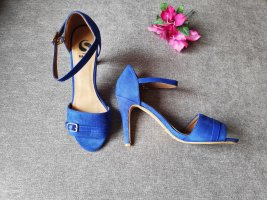 NEU blaue Pumps Sandalen High Heels sacha Größe 39