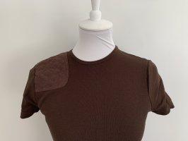 *NEU* braunes T-Shirt mit Patch von LAUREN by RALPH LAUREN