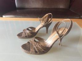 Neu Buffalo Sommer Sandaletten Leder Gr. 36 Riemchen ELEGANT !!!