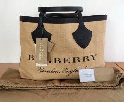 Burberry London Shoulder Bag black-sand brown