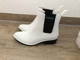 Calvin Klein Gumowe buty biały