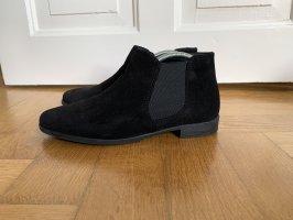 Neu Chelsea Ankle Boots schwarz 39 Tamaris Suede