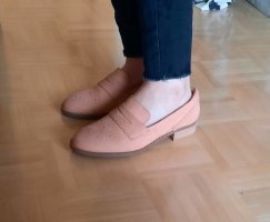 Clarks Slippers pink leather
