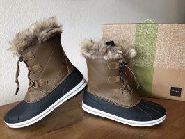 F.lli campagnolo cmp Bottes de neige ocre-brun noir