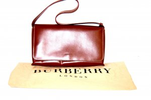 Burberry Shoulder Bag bronze-colored leather