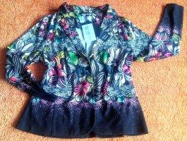 Bluebeery Blazer en jersey multicolore viscose