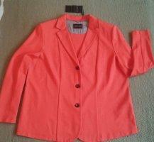 Marcona Blazer en jersey orange viscose