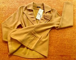Gerry Weber Wollen blazer goud Oranje-licht Oranje Wol