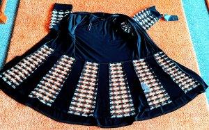 NEU Damen Bluse Jacke Abendmode Gr.42 in Schwarz/Weiß von Select! P.149,90€