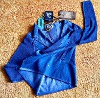 Khujo Bolero lavorato a maglia blu fiordaliso-blu acciaio Nylon