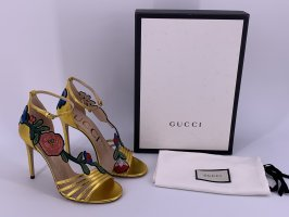 Neu Damen Gucci Leder Pumps Gr-38,5