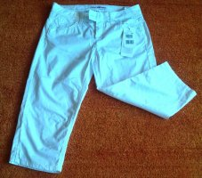 Lisa Campione Pantalone Capri bianco Cotone