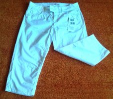 Lisa Campione 7/8 Length Jeans white cotton