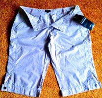 Pantalon capri vieux rose