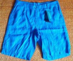 NEU Damen Hose Leinen Shorts Gr.38 in Blau v.Steilmann P.50€