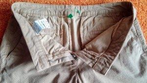 Stretch jeans camel Katoen