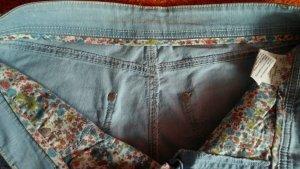 NEU Damen Hose Trendy Caprijeans Stretch Gr.42 in Blau Denim von ANNA MONTANA