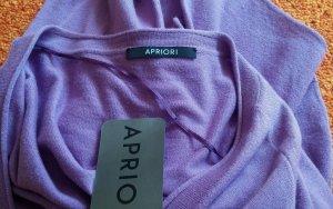 NEU Damen Jacke strick Glitzer Steine Gr.38 in Lila von APRIORI