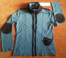 Lisa Campione Shirt Jacket grey-brown viscose