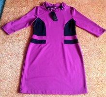 Neu Damen Kleid Jersey Gr.42 in Schwarz/Lila von Batida P.73,95€
