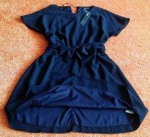Esprit Robe mi-longue bleu foncé polyester