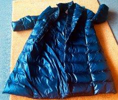 Manteau en duvet bleu foncé polyamide