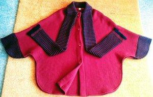 Płaszcz z dzianiny Wielokolorowy Bawełna