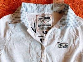 NEU Damen Polo Hemd Bluse Gr.S/M in Weiß von Arqueonautas