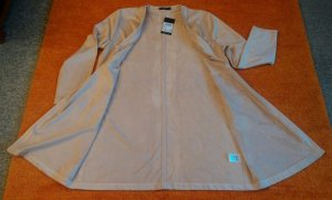 Frock Coat oatmeal polyester