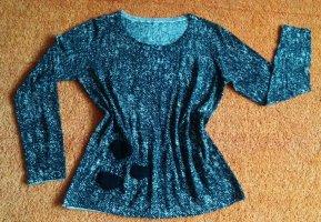 NEU Damen Pullover Wolle fein Strick gemustert Gr.38 von Apanage