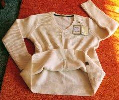 NEU Damen Pullover Wollmix Gr.XL in Creme von Basefield P.59,99€