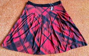 NEU Damen Rock Jersey Gr.38 in Rot-Schwarz Kariert von Kapalua