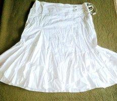 Lisa Campione Crash Skirt white cotton