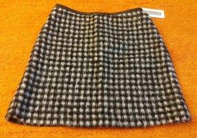 Kapalua Jupe en laine blanc-noir laine