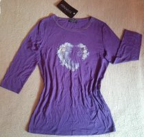 Apanage Boatneck Shirt lilac viscose