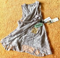 NEU Damen Shirt Sommer Tunika Spitze Gr.XS in Grau von Khujo