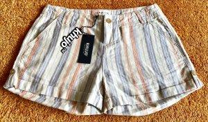 Khujo Shorts multicolored linen