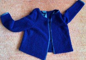 NEU Damen strick Jacke Wolle Gr.42 in Lila von Bluebeery P.89,95€