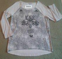 Kapalua Print Shirt grey-black viscose