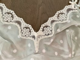 H&M Negligee natural white-lime-green