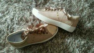 Neu! Echt Leder Sneaker von Brax in Rosègold Gr.39. Ladenpreis 84,95 (steht auf dem Etikett )