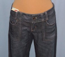 NEU * edc by ESPRIT Craft Jeans regular (Boyfriend Cut) mit Stickerei