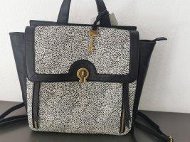 *Neu* Edler Fossil Leder Rucksack / Schultertasche / Handtasche mit Etikett NP 299€