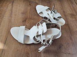 Neu Esprit Leder Schuhe in Weiss Gr 40