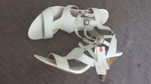 Neu Esprit Sandale in Leder Gr 40