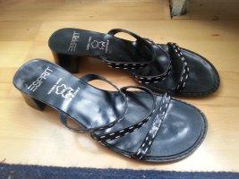 Neu! Esprit Sandalen, aus Leder, ungetragen, Größe 37, schwarz